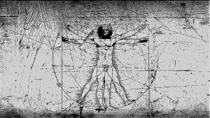 Vitruvian Man Wallpaper 1