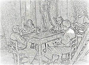 La partita a carte